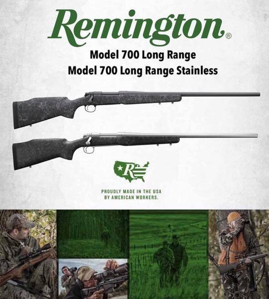 Remington 700 long range Bolt Action .300 Win Mag  Rifles