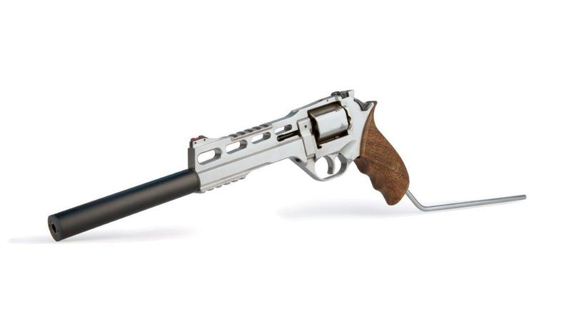 Chiappa Firearms Ltd Chrome Rhino 120DS .357  Long Barrel