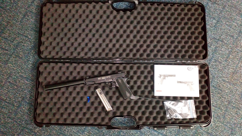 Walther 1911 GOLD CUP .22  Long Barrel