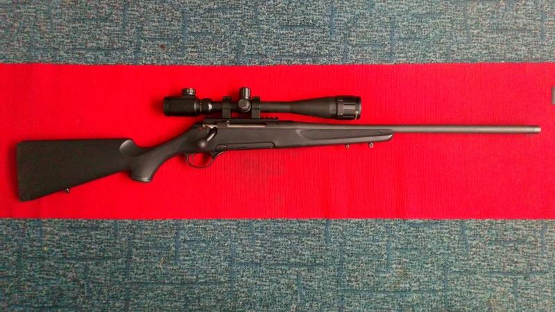 HAENEL C.G. JEAGER 10 Bolt Action 6.5x55  Rifles