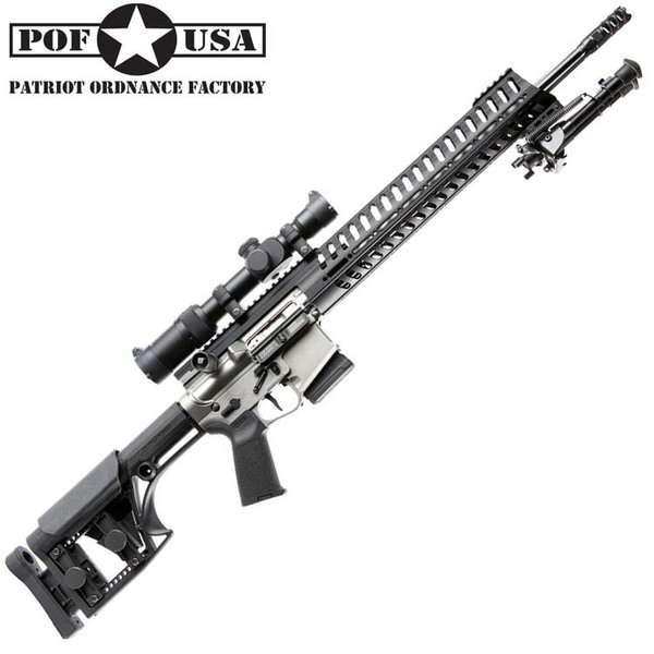 Patriot ordnance revolt Straight Pull .308  Rifles