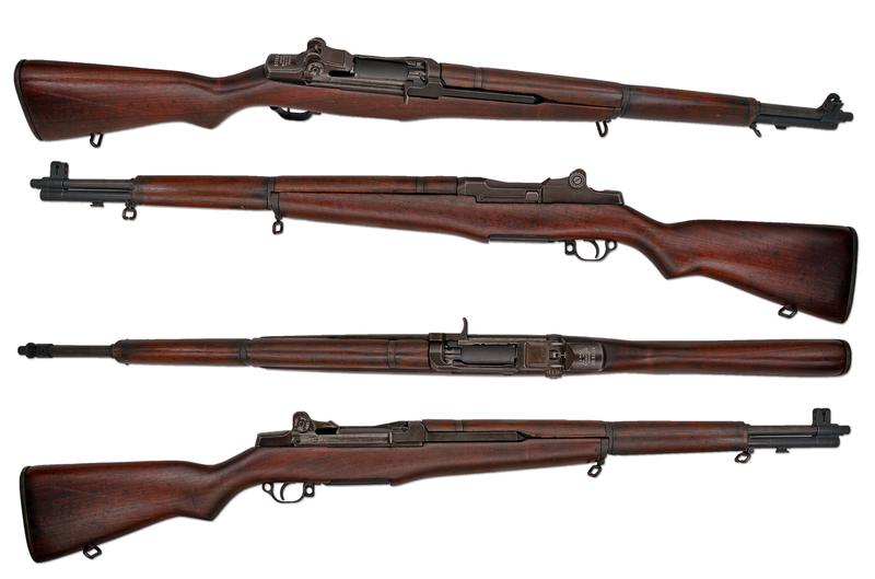 American M1 garand Straight Pull 30-06 Garand  Rifles