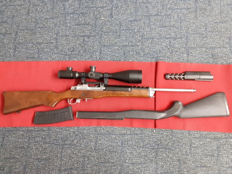 Ruger RUGER MINI 14 Straight Pull .223  Rifles