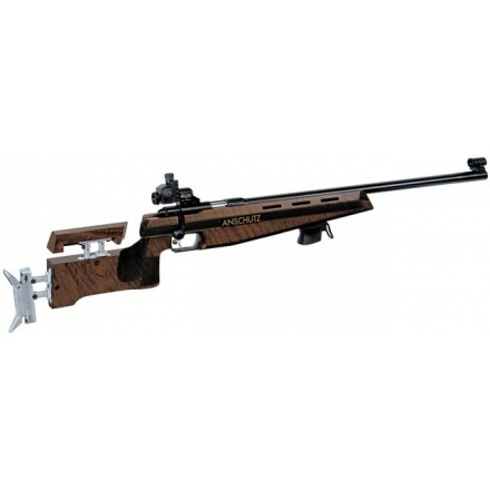 Anschutz 1907 Walnut with Alu butt plate 4759 .22 Bolt Action .22  Rifles