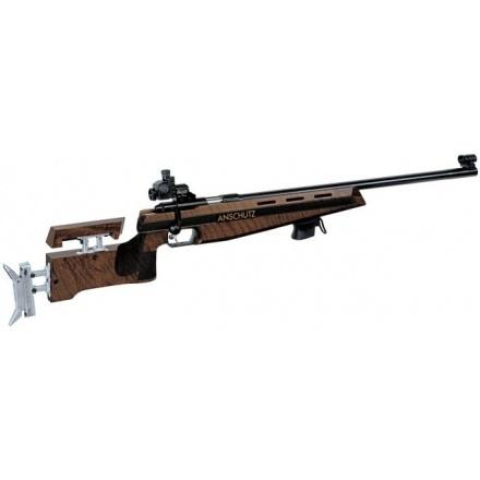 Anschutz 1907 Walnut with Alu butt plate 4759 .22 Bolt Action .22  Rifles