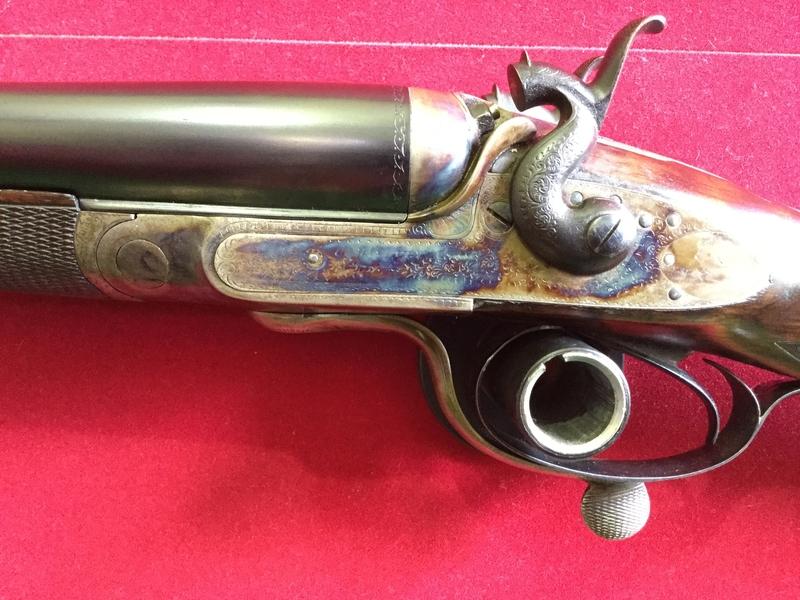 C Maybury Bar-Action Hammer Shotgun 12 Bore/gauge  Side By Side