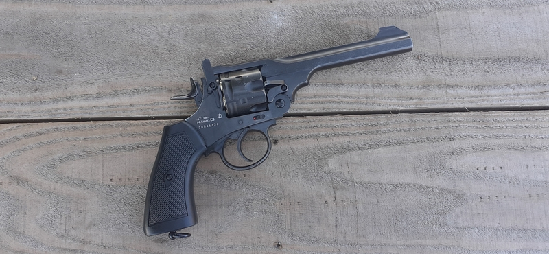 Webley / Webley & Scott MKVI Revolver .177  Air Pistols