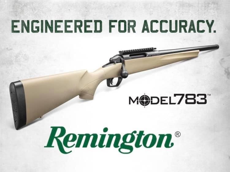 Remington 783 Bolt Action 6.5 Creedmoor  Rifles