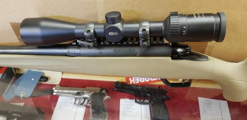 Remington 783 Synthetic Heavy Barrel Bolt Action .308  Rifles