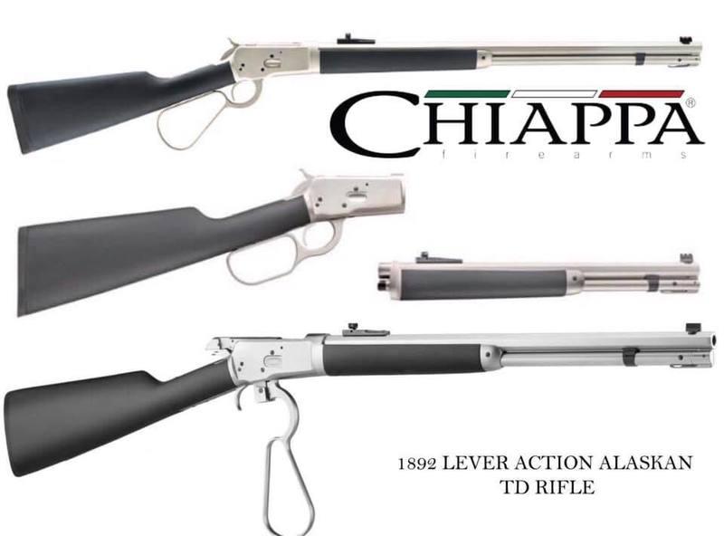 Chiappa Firearms Ltd 1892 Alaskan Lever action .357  Rifles