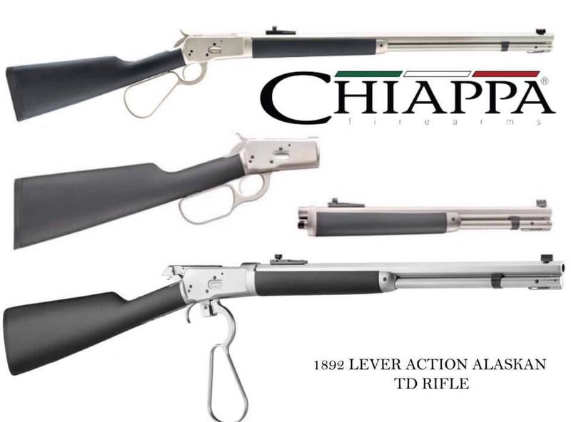 Chiappa Firearms Ltd 1892 Alaskan Lever action .357  Rifles