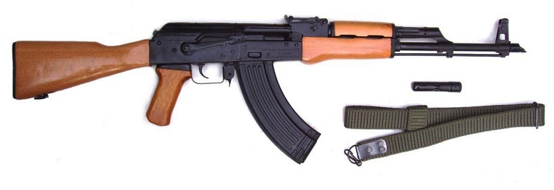 Romanian AK47 AKM Straight Pull 7.62 x 39  Rifles