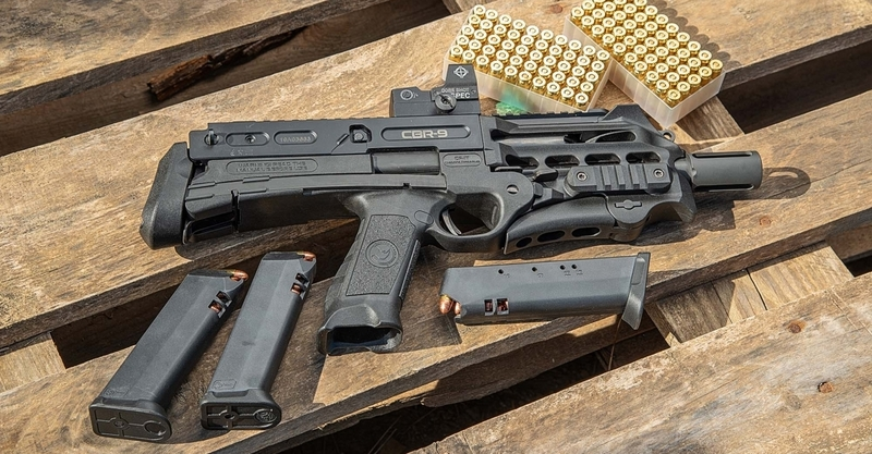 Chiappa Firearms Ltd CBR-9 Straight Pull 9 mm  Rifles
