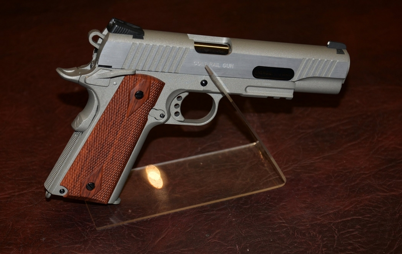 KWC Colt 1911 Stainless 6mm  Air Pistols