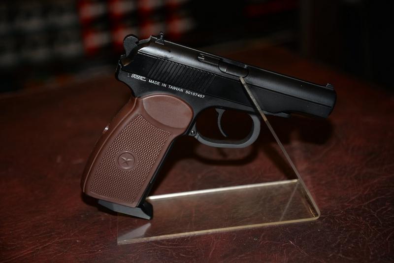 KWC Makarov .177 bb  Air Pistols