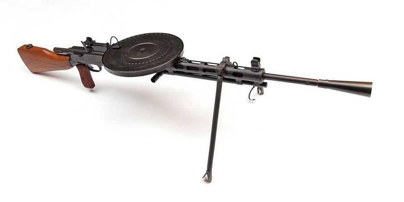 Russian Made DP28 Machine Gun