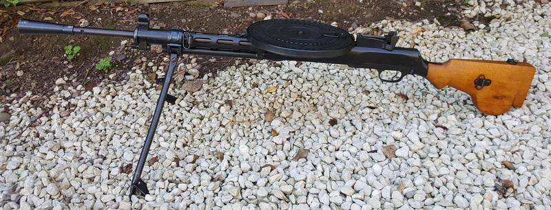 Russian Made DP28  7.62 mm  Machine Guns