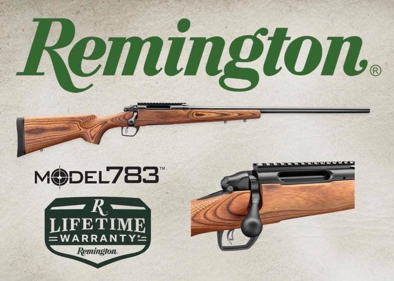 Remington 783 varmint Bolt Action .243  Rifles