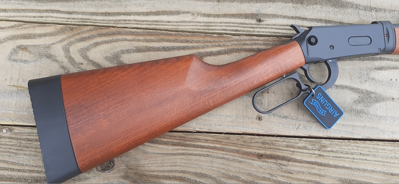 Walther Under Lever Action Duke Black .177  Air Rifles