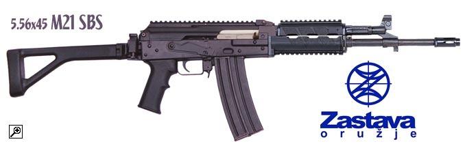 Zastava AK47 M21  Straight Pull .223  Rifles