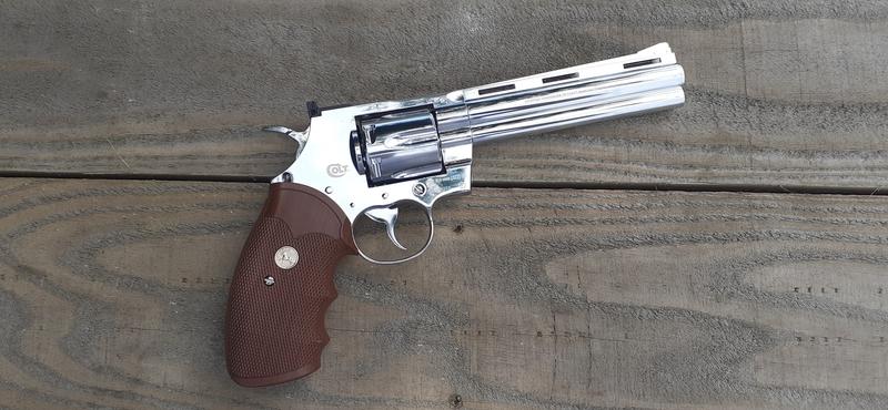 "Umarex Colt Python 6\"" Stainless .177 BB"