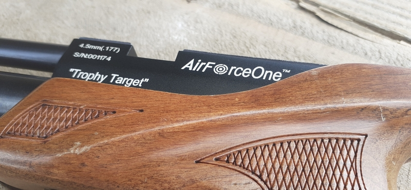 Air Force One Trophy Target .177  Air Pistols