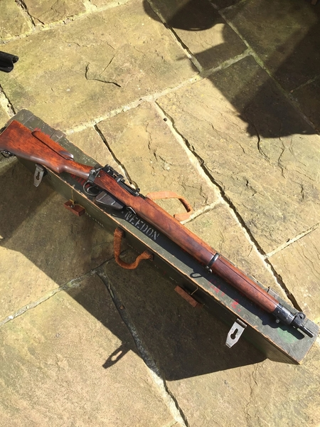 Savage Arms Enfield No4 T Bolt Action .303  Rifles