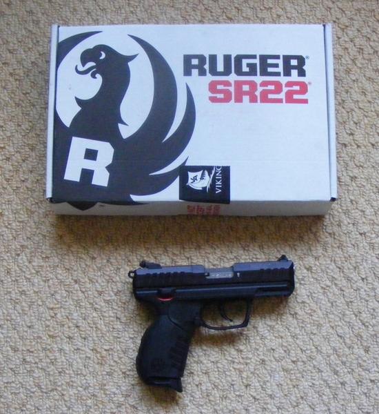 Ruger SR 22 Pistol .22 Humane Killers