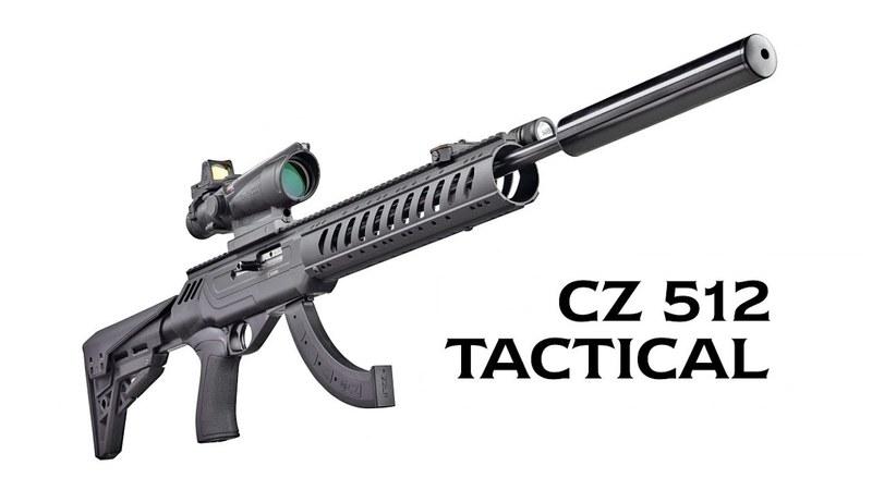 CZ  - Ceska Zbrojovka 512 Tactical Semi-Auto .22WMR  Rifles