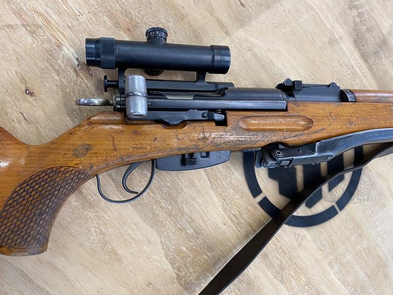 Schmidt Rubin K31/55 Sniper Straight Pull 7.5 x 55  Rifles
