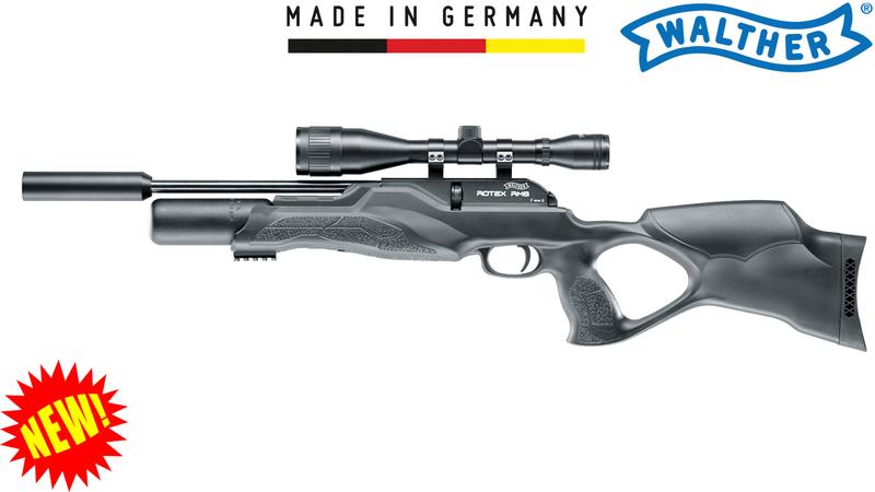 Walther Rotex RM8 Varmint Ultra Compact .177  Air Rifles