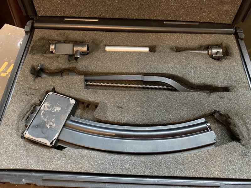 Ruger Mini 14 .22 conversion kit