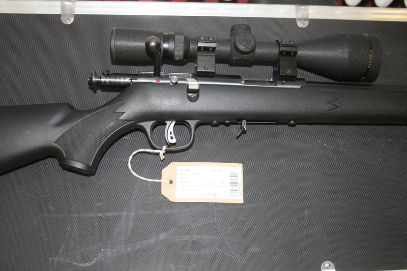 Savage Arms 93R17 Bolt Action .17  Rifles