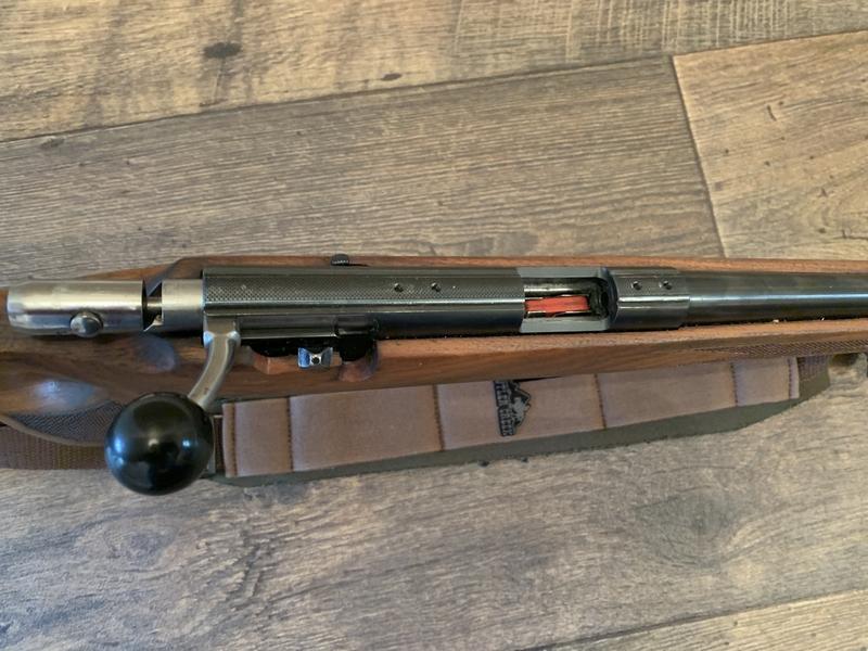 Anschutz 1417 Thumb Hole Bolt Action .22  Rifles