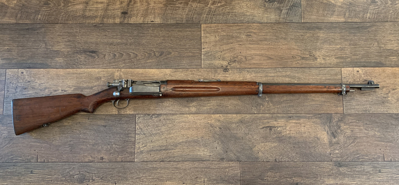 Krag Jorgensen Rifles krag Bolt Action 6.5x55  Rifles