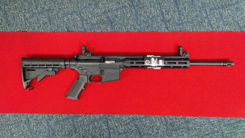 Smith & Wesson M&P 15-22 SPORT Semi-Auto .22  Rifles