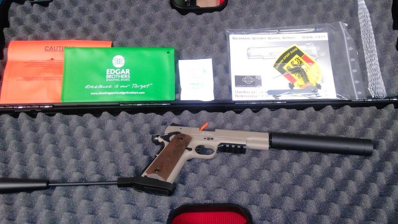 GSG - German Sport Guns GmbH GSG 1911 .22