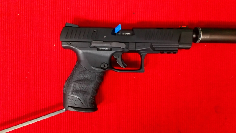 Walther PPQ .22  Long Barrel