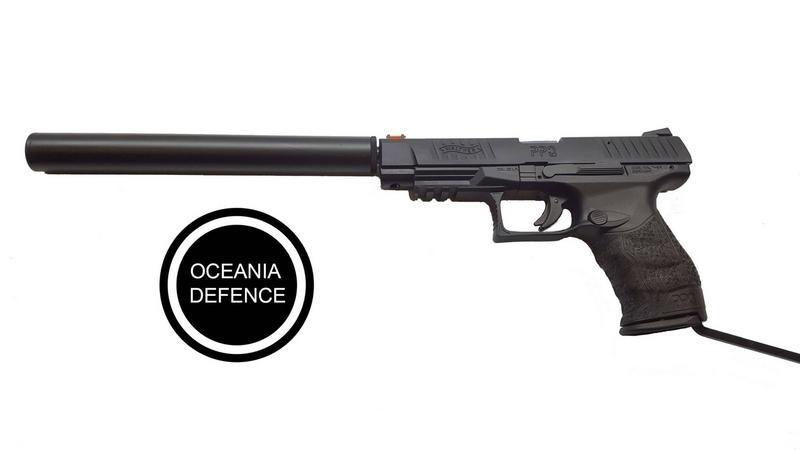 Walther PPQ .22  Long Barrel
