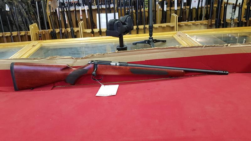 CZ  - Ceska Zbrojovka 455 American Red Beech Bolt Action .17  Rifles