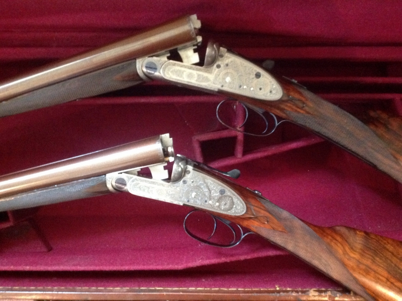 C Smith  12 Bore/gauge  Side By Side
