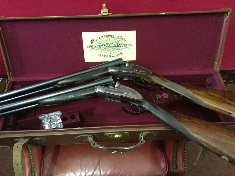 William Powell & Son, Ltd Central Vision Sidelock Ejectors 12 Bore/gauge  Side By Side
