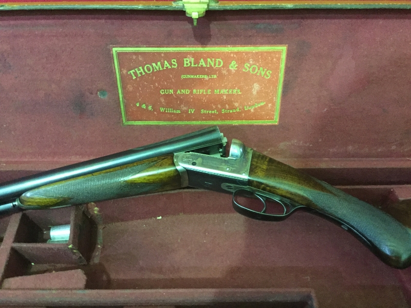Thomas Bland 3 12 Bore/gauge  Side By Side