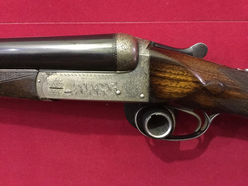 Charles Hellis & Sons Boxlock Ejector 12 Bore/gauge  Side By Side