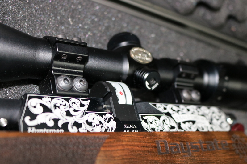 Daystate BOXALL & EDMISTON .177  Air Rifles
