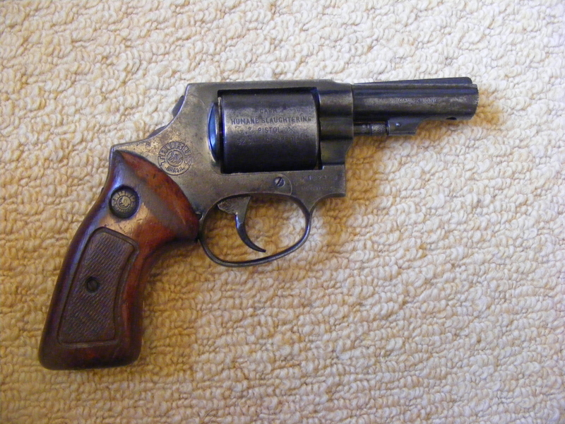 Accles and Shelvoke Ltd Single Shot Humane Killer .32 Humane Killers