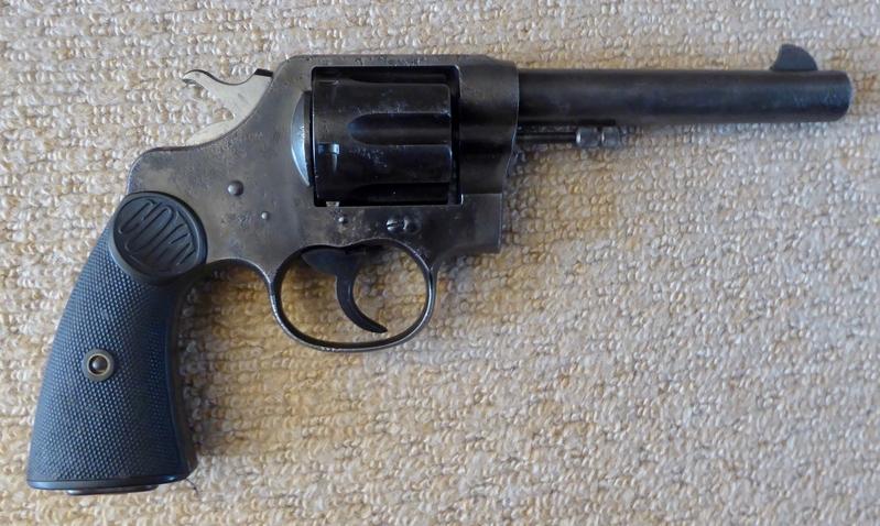 Colt New Service Revolver .455  Revolver