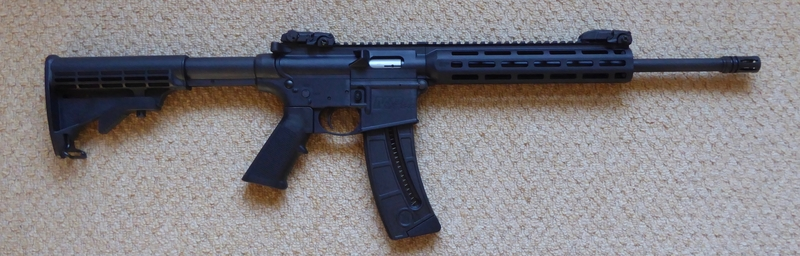 Smith & Wesson M & P 15-22 Sport Semi-Auto .22  Rifles