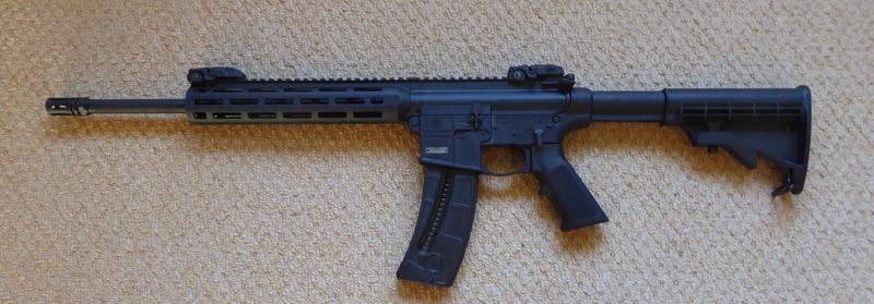 Smith & Wesson M & P 15-22 Sport Semi-Auto .22  Rifles