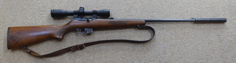 BRNO 581 Semi Auto Rifle Semi-Auto .22  Rifles
